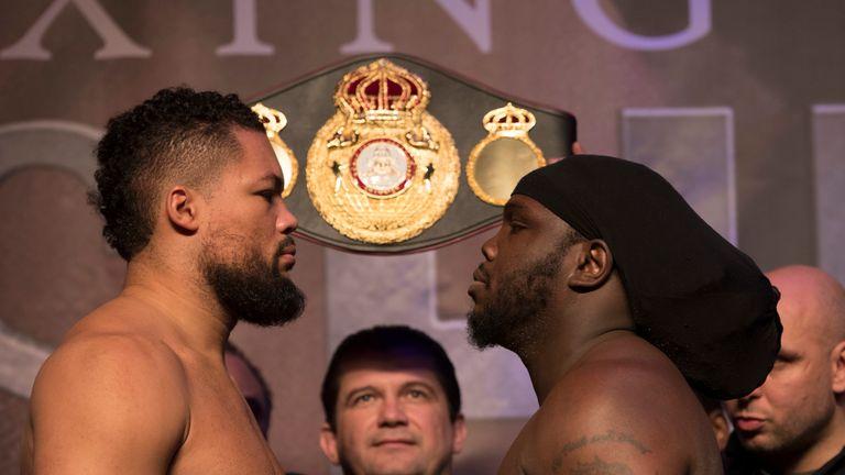 Heavyweight Joe Joyce faces Bermane Stiverne