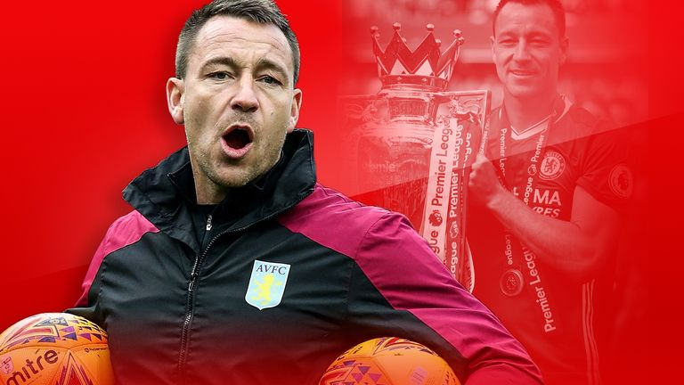 John Terry opens up to Sky Sports about the switch from playing to coaching