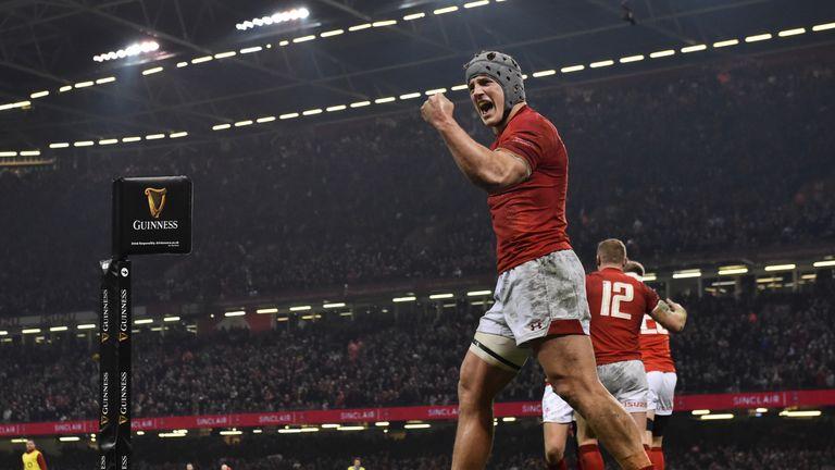 Wales' Grand Slam tilt was firmly on after a superb night at a bouncing Principality Stadium against England