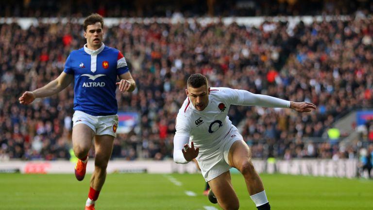 Jonny May is in fine fettle for England