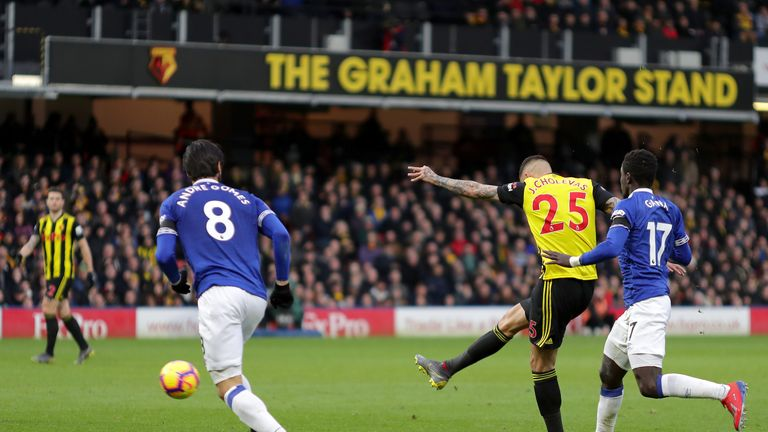 The source of Zouma's anger appeared to lie with Jose Holebas' shot