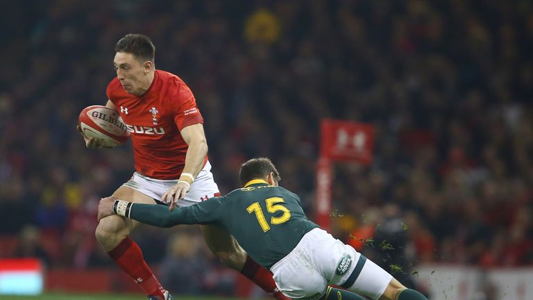 Josh Adams wary of England's kicking threat ahead of Wales Six Nations game