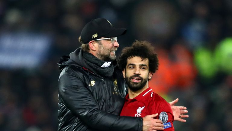Jurgen Klopp knows how to get the best from Mohamed Salah