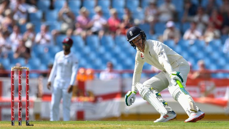 Keaton Jennings has struggled for consistency with the bat