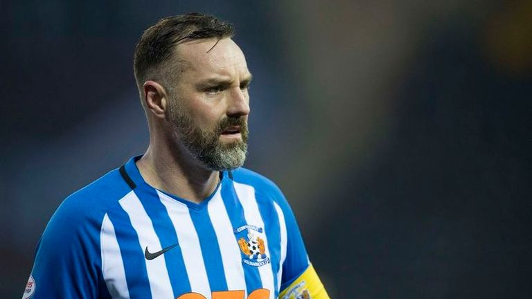 Kris Boyd announces retirement from professional football