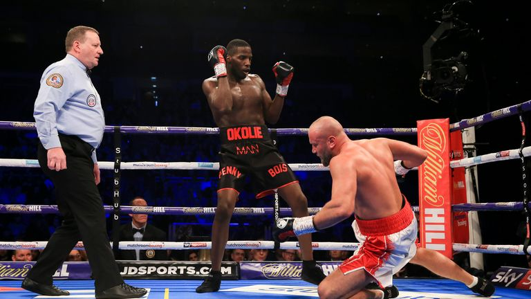 Okolie carried far too much power for Lodi
