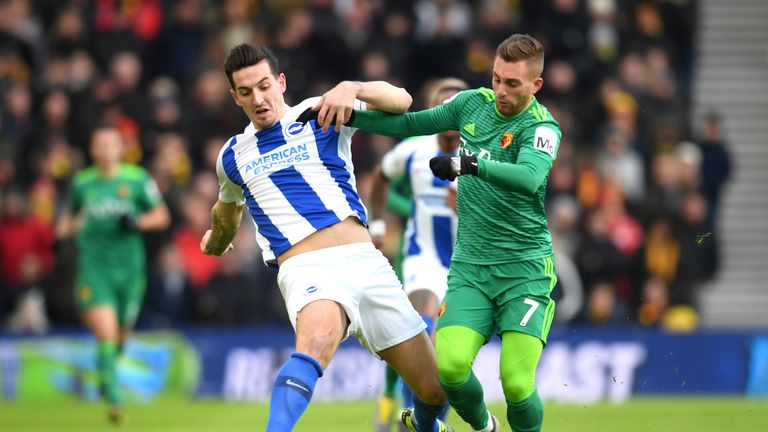 Lewis Dunk grabbed a valuable assist for Brighton against Crystal Palace