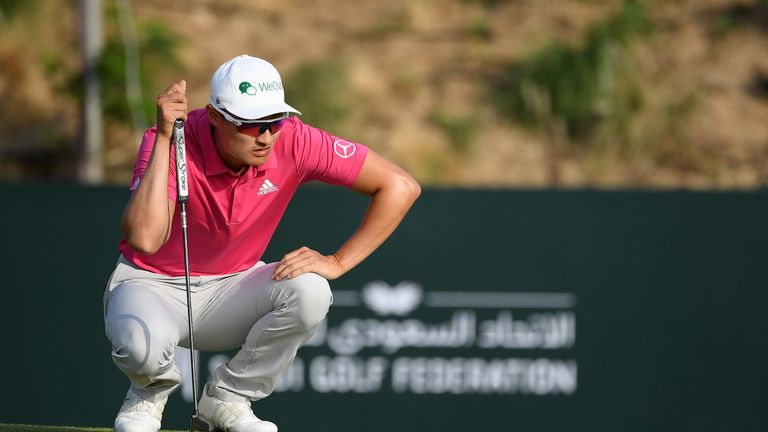 Li Haotong was penalised for a breach of the new rule in Dubai