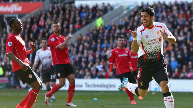 Luis Suarez was unstoppable as Liverpool ran riot in Cardiff