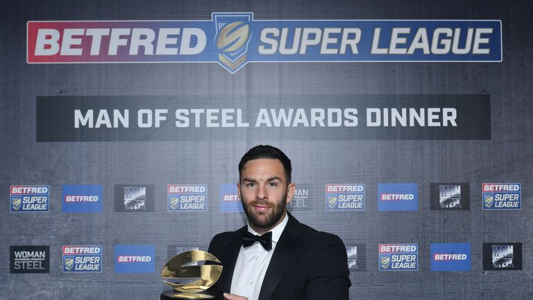 Luke Gale wins the 2017 Man of Steel