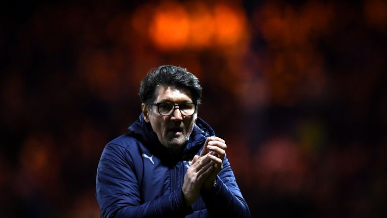 Luton caretaker boss Mick Harford is yet to taste defeat in League One