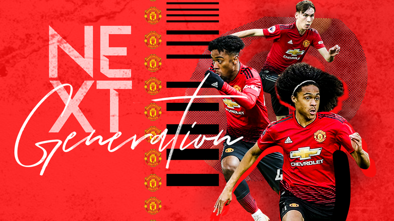 Manchester United trio Tahith Chong, James Garner and Angel Gomes are to be included in Wednesday's matchday squad