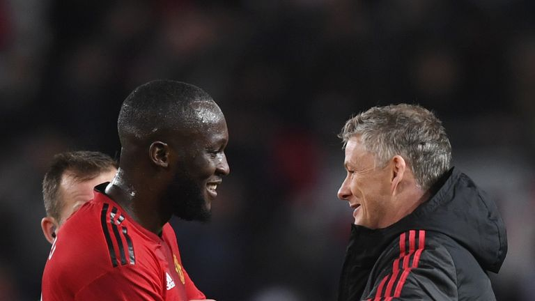Lukaku is said to be happy under the management of Ole Gunnar Solskjaer
