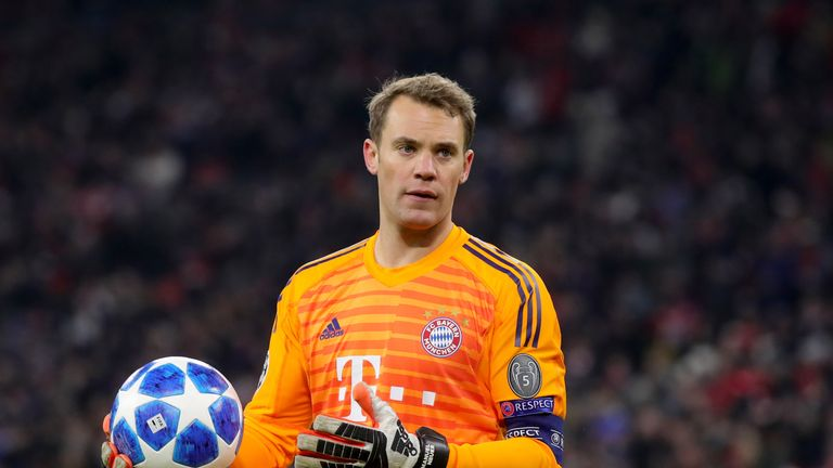 There have been questions about Manuel Neuer's form this season