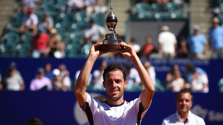Marco Cecchinato defeated Argentinians Guido Pella and Diego Schwartzman in the space of two days