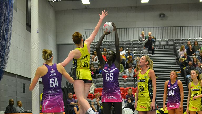 Cholhok's impressive form under the post has seen her described as one of the Superleague's most dangerous shooters