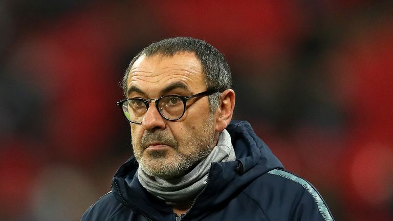 Maurizio Sarri does not believe Chelsea can win the Premier League this season