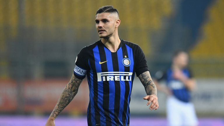 Mauro Icardi is a target for Chelsea