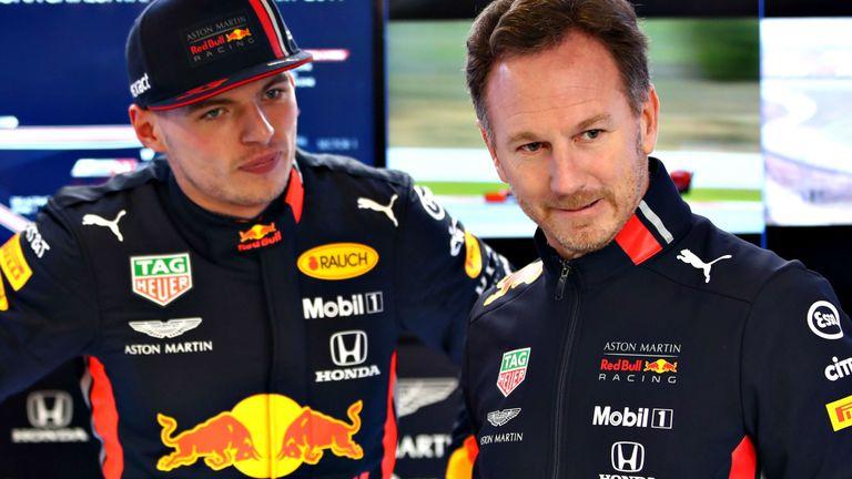 Max Verstappen and Christian Horner enjoyed a more-fruitful day for Red Bull