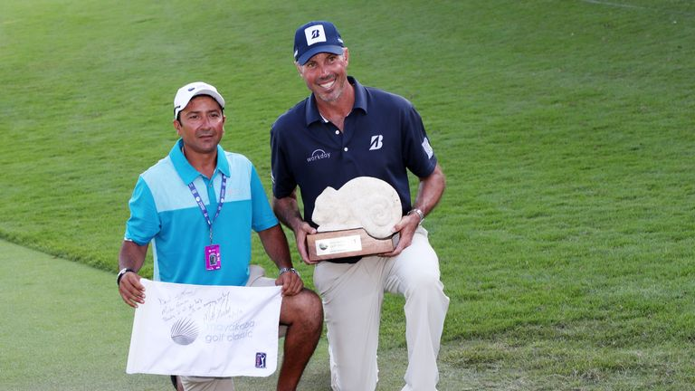 Golf Channel reporter Todd Lewis joins Sarah at the Sky Cart to discuss Matt Kuchar's statement in which he vowed to pay Mayakoba caddie David Ortiz his full entitlement for their win together in Mexico.