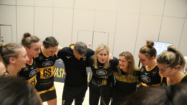 Mel Mansfield has used her Wasps bench well this season but it's a tough balancing act