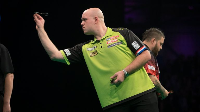 Michael van Gerwen suffered his eighth 6-0 or 6-1 defeat of the past five years