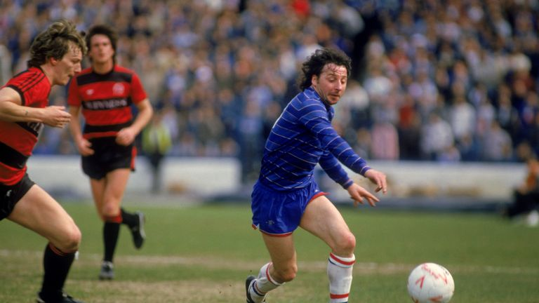 Thomas signed for Chelsea in January 1984 and scored twice on his home debut against Sheffield Wednesday