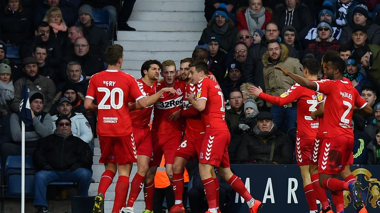 Middlesbrough beat Championship promotion rivals West Brom 3-2 on Saturday
