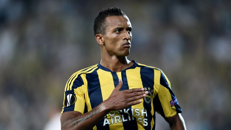 Nani became a fan favourite at Fenerbahce