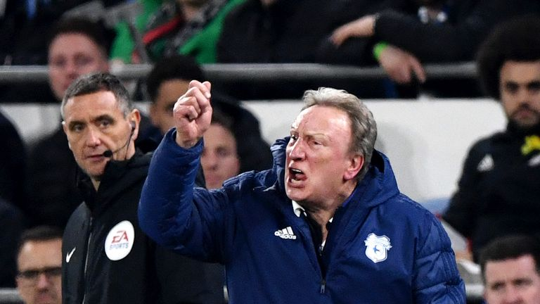 Neil Warnock has work to do if Cardiff are to stay up