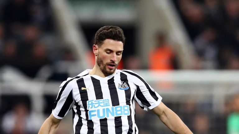 Newcastle will be hoping Schar is fit to return against Arsenal