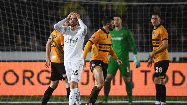 Newport shocked Middlesbrough in the FA Cup