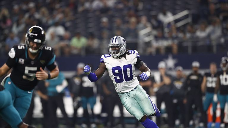 a7435e9fc5e Dallas Cowboys defensive end DeMarcus Lawrence has been franchise tagged  again