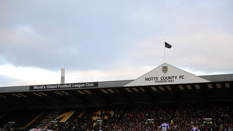 d2c38d15a Notts County face relegation from the Football League for the first time in  their history
