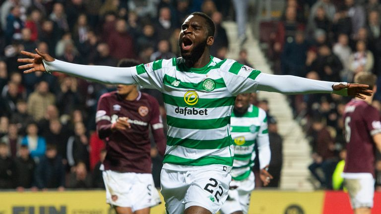 Odsonne Edouard has been crucial up front for Celtic