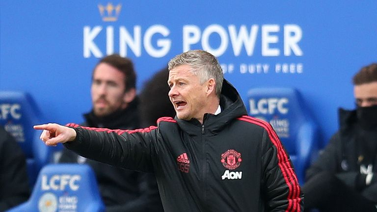 Solskjaer has won seven of his eight Premier League games as United manager