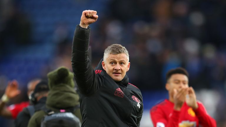 Ole Gunnar Solskjaer is unbeaten in the Manchester United hotseat