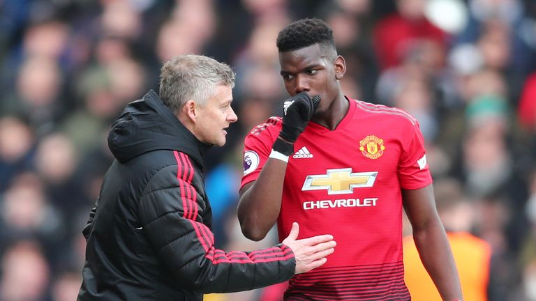 Pogba has been in prolific form since Solskjaer took charge in December