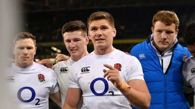 Owen Farrell's decision making has been outstanding