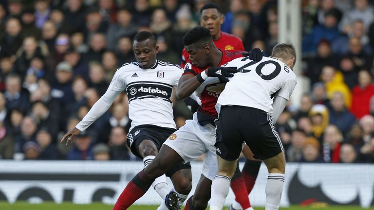 Fulham struggled to cope with United's quality on Saturday