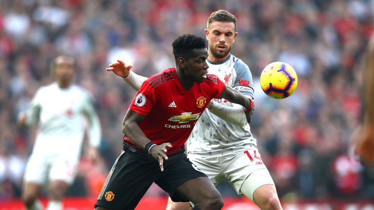 Manchester United and Liverpool go head-to-head in October