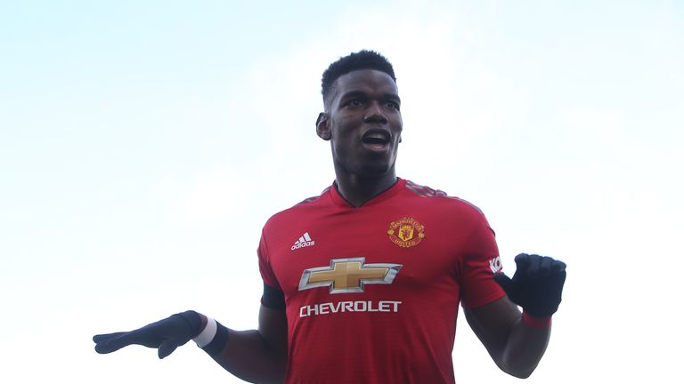 Pogba has directly contributed to 13 goals in his last nine