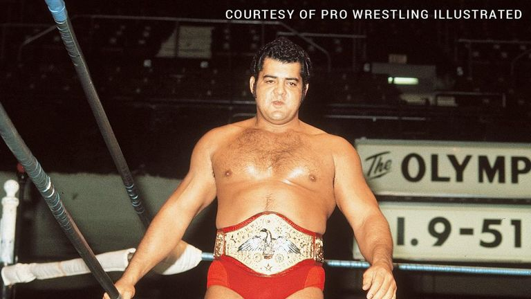 Pedro Morales' first world title run lasted 1,027 days, from February 1971 to December 1973 (picture: Pro Wrestling Illustrated)