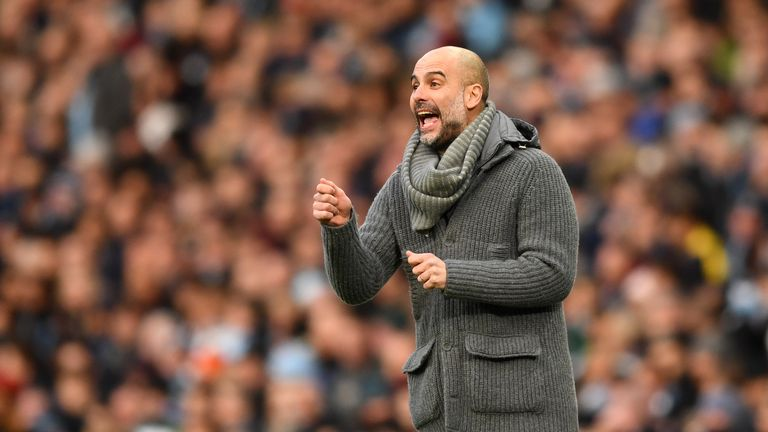 Pep Guardiola, Manchester City boss