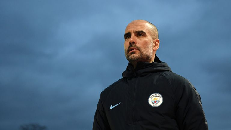 Pep Guardiola's Manchester City remain in contention for the quadruple