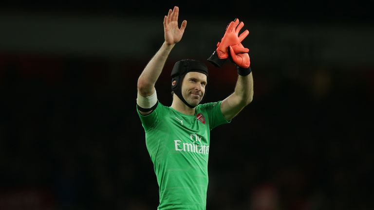 Arsenal goalkeeper Petr Cech took the Arsenal Women team for dinner in London