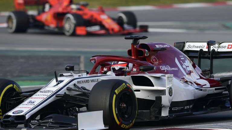 The Alfa Romeo Car Was Officially Introduced Just Before Start Of Winter Testing