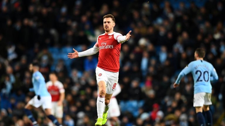 Ramsey will join Juventus on a free transfer on July 1