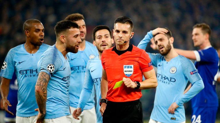 Referee Carlos del Cerro Grande gave Schalke two penalties against Man City c3949a486