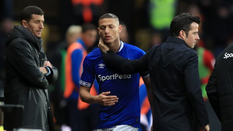 Richarlison was subdued and replaced shortly after Watford's winning goal